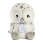 Precious Moments Nigel Snowy Owl Stuffed Animal by Aurora