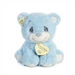 Precious Moments Blue Charlie Bear Stuffed Animal by Aurora