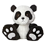 Domino 10 Inch Taddle Toes Panda Bear Stuffed Animal by Aurora