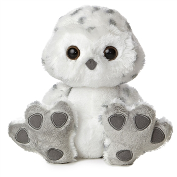 Hummer the Taddle Toes Stuffed Snowy Owl by Aurora