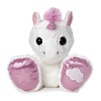 Rainbow the Taddle Toes Stuffed Unicorn by Aurora