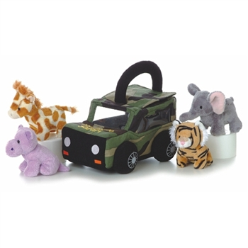 My Photo Safari Plush African Animals Playset for Babies by Aurora