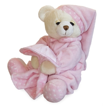 Pink Dreamy Baby the Plush Teddy Bear By Aurora