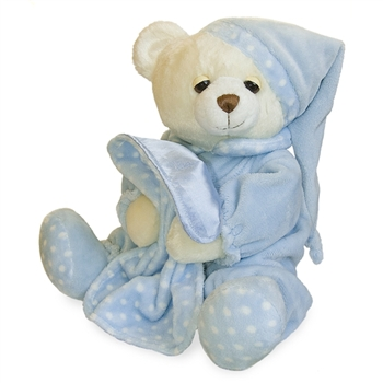 Blue Dreamy Baby the Plush Teddy Bear By Aurora