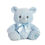 Lil' Boy the Baby Safe Plush Blue Teddy Bear by Aurora