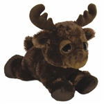 Michigan the Plush Moose Dreamy Eyes Stuffed Animal by Aurora