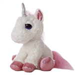 Heavenly the Dreamy Eyes Unicorn Stuffed Animal by Aurora