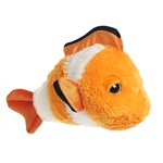 Clown Round the Dreamy Eyes Clownfish Stuffed Animal by Aurora