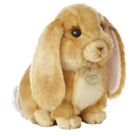 Realistic Stuffed Lop-eared Rabbit 10 Inch Plush Animal by Aurora