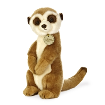 Realistic Stuffed Meerkat 10 Inch Plush Animal by Aurora