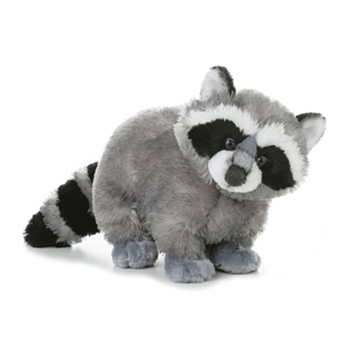 Bandit the Plush Raccoon by Aurora