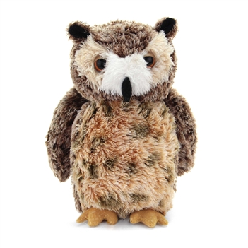 Osmond the Stuffed Great Horned Owl by Aurora