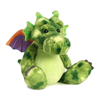 Ohen Gentleheart the Green Dragon Stuffed Animal by Aurora
