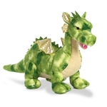 Vollenth the Four-legged Green Dragon Stuffed Animal by Aurora