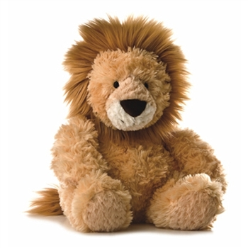 Stuffed Lion 12 Inch Tubbie Wubbie by Aurora
