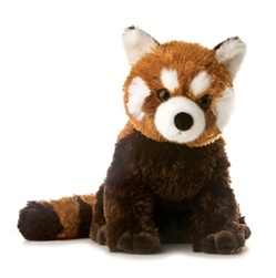Plush Red Panda By Aurora