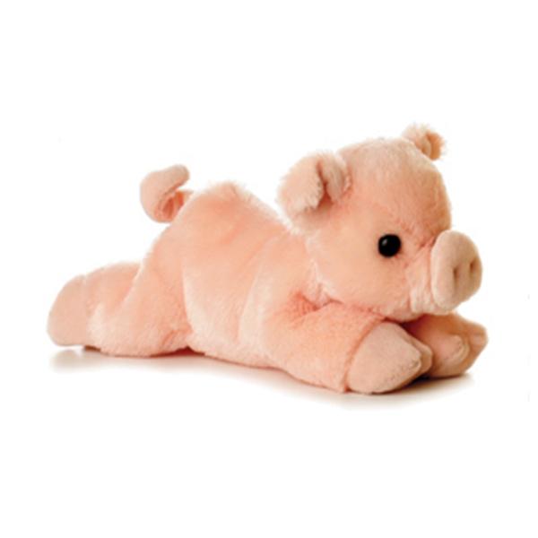 percy the plush pink pig aurora stuffed safari. Black Bedroom Furniture Sets. Home Design Ideas