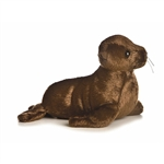 Plush California Sea Lion Mini Flopsie by Aurora