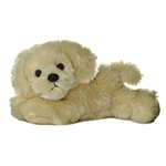 Bailie the Stuffed Tan Dog by Aurora