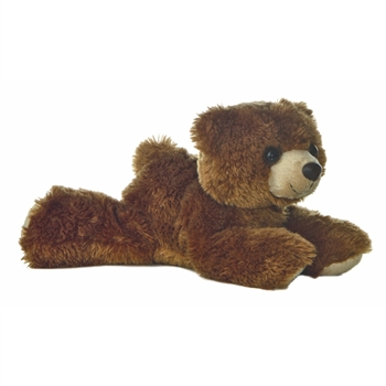 Barnsworth the Stuffed Grizzly Bear by Aurora