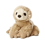 Little Racey the Stuffed Sloth Mini Flopsie by Aurora