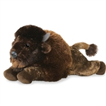 Cullen the Stuffed Buffalo Flopsie Plush Animal by Aurora