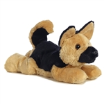 Bismark the Stuffed German Shepherd Flopsie by Aurora