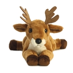 Points the Stuffed Whitetail Buck Deer Flopsie by Aurora