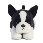 Buster the Stuffed Boston Terrier Flopsie by Aurora