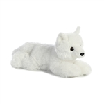 Arlo the Stuffed Arctic Fox Flopsie by Aurora