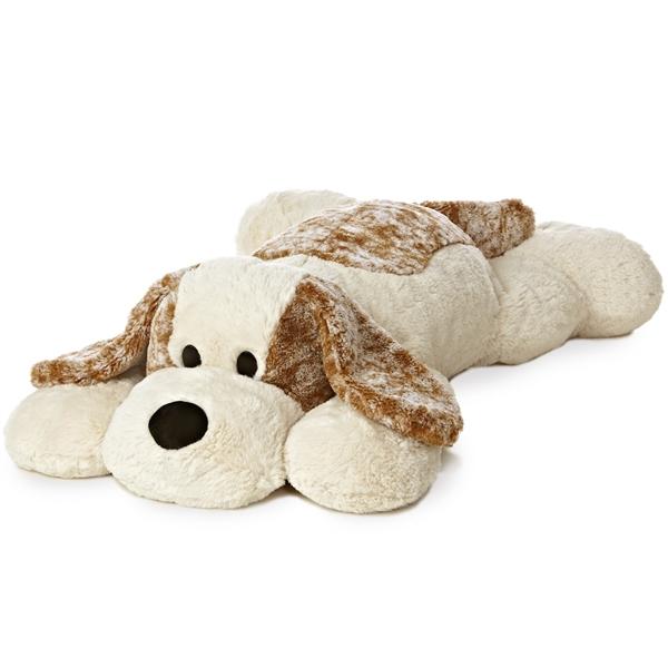 jumbo stuffed puppy dog super flopsie aurora stuffed safari. Black Bedroom Furniture Sets. Home Design Ideas
