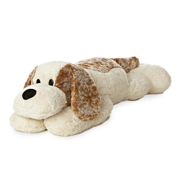Bigg Dog Toy : Jumbo stuffed puppy dog super flopsie aurora