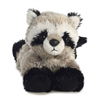 Little Rascal the Stuffed Raccoon Mini Flopsie by Aurora