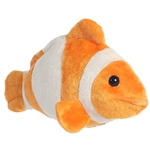 Little Bozo the Stuffed Clownfish Mini Flopsie by Aurora