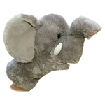 Tusk the Plush Elephant Stage Puppet by Aurora