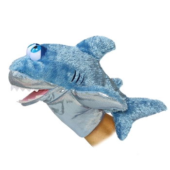 Sharky the Goofy Eyed Shark Puppet by Aurora