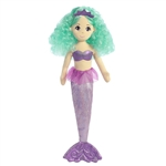 Alexa the Plush Mermaid with Green Doll Hair by Aurora