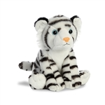 Destination Nation Small White Tiger Stuffed Animal by Aurora