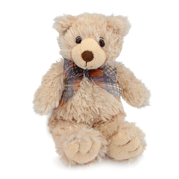 Regis the Small Tan Teddy Bear by First and Main