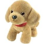 Pup E. Dog the Stuffed Golden Lab Puppy by First and Main