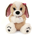 Melancholy Melanie the Get Well Plush Dog by First and Main