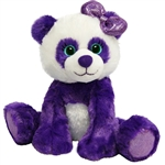 Paula the Sparkly Purple Stuffed Panda Gal Pal by First and Main