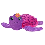Tallulah the Sparkly Purple Stuffed Turtle by First and Main
