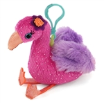 Fiona the Fantasea Clip-On Flamingo Plush Toy by First and Main