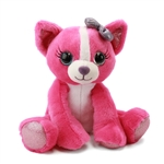 Chelsea the Sparkly Pink Stuffed Chihuahua by First and Main