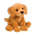 Gracie the 5 Inch Plush Golden Retriever Mini Pup by Douglas