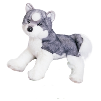 Sasha the Plush Siberian Husky Puppy by Douglas