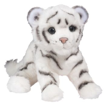 Silky the Plush White Tiger Cub by Douglas
