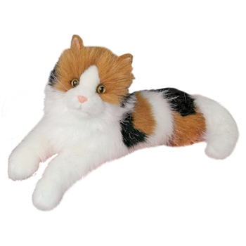 Puzzle the Stuffed Calico Cat by Douglas