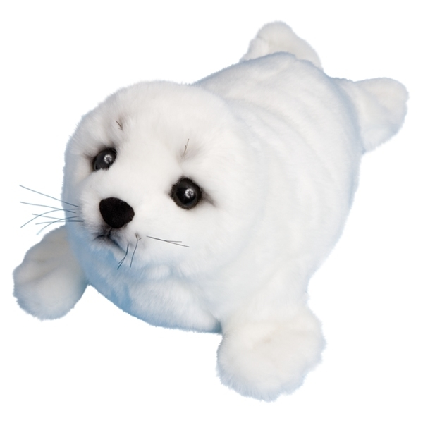 Toys For Seals : Twinkle the plush harp seal pup by douglas at stuffed safari